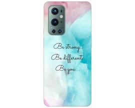 Husa Silicon Soft Upzz Print Compatibila Cu OnePlus 9 Pro Model Be You