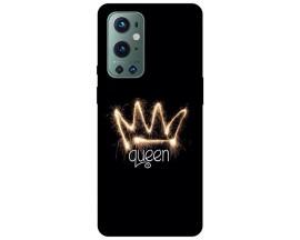 Husa Silicon Soft Upzz Print Compatibila Cu OnePlus 9 Pro Model Queen