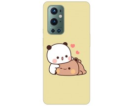 Husa Silicon Soft Upzz Print Compatibila Cu OnePlus 9 Pro Model Teddy