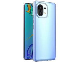 Husa Slim Upzz Case Compatibila Cu Xiaomi Mi 11, Transparenta, Grosime 0.5mm