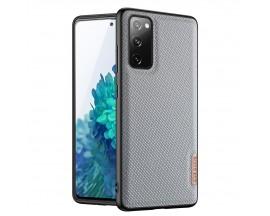 Husa Premium DuxDucis Fino Compatibila Cu Samsung Galaxy S20 Fe - Albastru