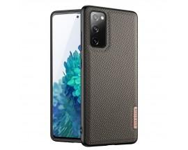 Husa Premium DuxDucis Fino Compatibila Cu Samsung Galaxy S20 Fe - Verde