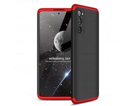 Husa Upzz Protection Compatibila Cu Samsung Galaxy S20 Fe, Negru - Rosu