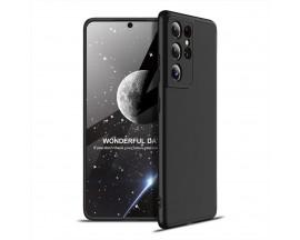 Husa Upzz Protection Compatibila Cu Samsung Galaxy S21 Ultra, Negru