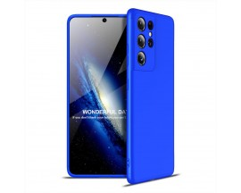 Husa Upzz Protection Compatibila Cu Samsung Galaxy S21 Ultra, Albastru