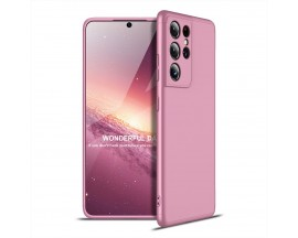 Husa Upzz Protection Compatibila Cu Samsung Galaxy S21 Ultra, Roz
