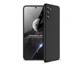 Husa Upzz Protection Compatibila Cu Samsung Galaxy S21, Negru