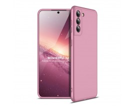 Husa Upzz Protection Compatibila Cu Samsung Galaxy S21, Roz