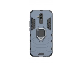 Husa Spate Upzz Ring Armor Hybrid Pentru Mate 20 Lite, Blue