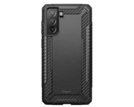 Husa Premium Supcase Clayco Xenon Compatibila Cu Samsung Galaxy S21, Negru