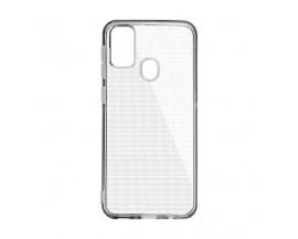 Husa Upzz Clear Case 2mm Compatibila cu Samsung Galaxy m21, Transparent