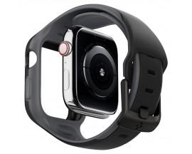Curea Spigen Liquid Air Pro Compatibila Cu Apple Watch 4 / 5 / 6 / SE ( 40mm ), Negru