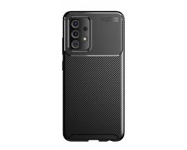 Husa Premium Rugged Carbon New Auto Focus  Compatibila Cu Samsung Galaxy A32 5G, Negru