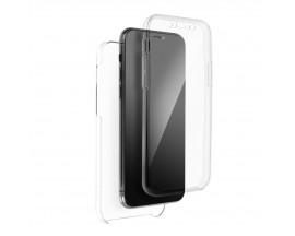 Husa Upzz 360 Protectie Fata si Spate Compatibila Cu Samsung Galaxy A52 / A52 5G, Transparenta
