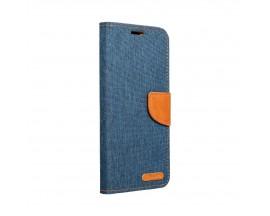 Husa Flip Cover Upzz Canvas Compatibila Cu Samsung Galaxy A02s, Navy Albastru