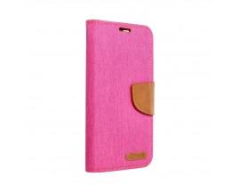 Husa Flip Cover Upzz Canvas Compatibila Cu Samsung Galaxy A02s, Roz