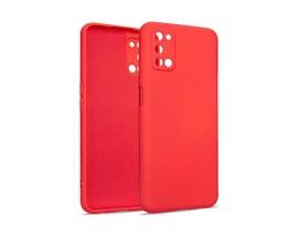Husa Premium Upzz Soft Silicone Compatibila Cu Oppo A52, Rosu