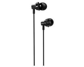 Casti Handsfree Borofone Cu Telecomanda si Microfon Pe Fir, In Ear, Negru - Bm35