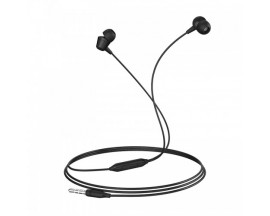 Casti Handsfree Borofone Melody Cu Telecomanda si Microfon Pe Fir, In Ear, Negru Bm20