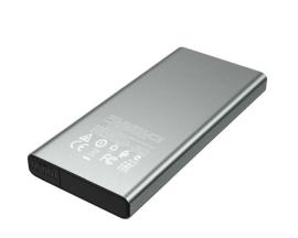 Baterie Externa Borofone Velocity 10.000 mAh, 2  Usb QC 3.0, 1 x Usb Type - C, PD, Gri- Bt34