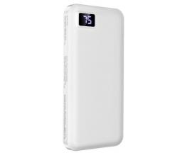Baterie Externa Borofone Intelligent 10.000 mAh, Alb BT22