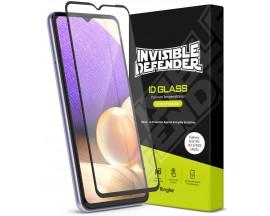 Folie Sticla Premium Ringke Invisible Defender Glass Compatibila Cu Samsung Galaxy A52 5G, Transparenta Cu Margine Neagra