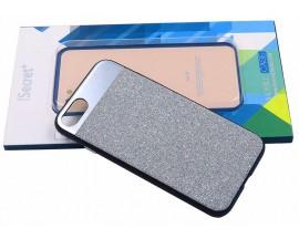Husa Spate Lux Fashion Isecret iPhone 7/8 Argintie