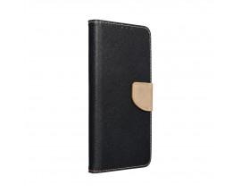 Husa Flip Carte Upzz  Fancy Book Compatibila Cu Samsung Galaxy A32 5G, Negru Gold