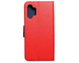 Husa Flip Carte Upzz  Fancy Book Compatibila Cu Samsung Galaxy A32 4g, Rosu