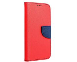 Husa Flip Carte Upzz  Fancy Book Compatibila Cu Xiaomi Mi 11, Rosu Navy