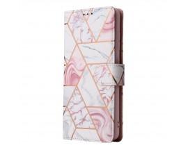Husa Flip Carte Upzz Tech Wallet  Compatibila Cu Samsung Galaxy A52 / A52 5G, Marble