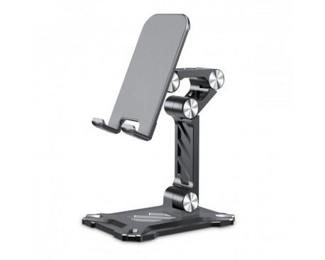 Suport Universal Premium Upzz Tech Protect Z4 Pentru Telefon Si Tableta, Aluminiu Gri