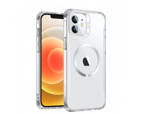 Husa Premium Esr Ch Halolock MagSafe Compatibila Cu iPhone 12 / 12 Pro, Transparenta