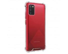 Husa Spate Upzz Crystal Armor Compatibila Cu Samsung Galaxy A02s, Tehnologie Air Cushion, Transparenta