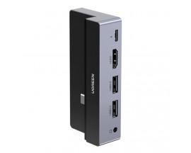 Hub Multifunctional Ugreen  5 In 1, Cu Mufa Type-c Power Delivery 100w, Compatibil Cu Ipad Pro