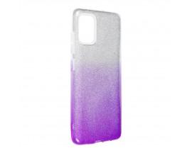 Husa Spate Upzz Shiny Compatibila Cu Samsung Galaxy A52 4G / A52 5G, Mov
