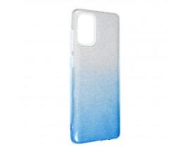 Husa Spate Upzz Shiny Compatibila Cu Samsung Galaxy A52 4G / A52 5G, Albastru
