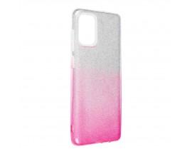 Husa Spate Upzz Shiny Compatibila Cu Samsung Galaxy A52 4G / A52 5G, Silver Roz