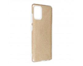 Husa Spate Upzz Shiny Compatibila Cu Samsung Galaxy A52 4G / A52 5G, Gold