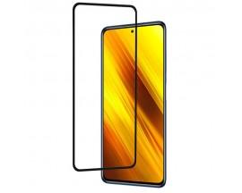 Folie Full Glue Upzz Pro Glass Compatibila Cu Xiaomi Poco X3, Transparenta Cu Margine Neagra