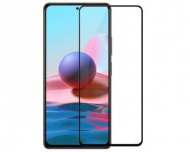 Folie Full Glue Upzz Pro Glass Compatibila Cu Xiaomi Redmi Note 10, Transparenta Cu Margine Neagra