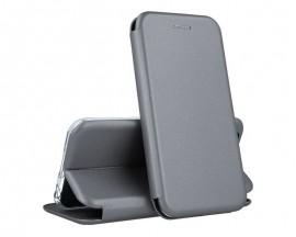 Husa Flip Carte Cu Magnet Lux Upzz Compatibila Cu Samsung Galaxy A52 5g, Gri