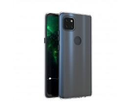 Husa Slim Spate Upzz Compatibila Cu Motorola Moto G 5G, Grosime 0.5mm, Transparenta
