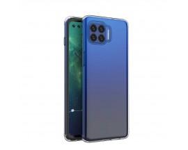 Husa Slim Spate Upzz Compatibila Cu Motorola Moto G 5G Plus, Grosime 0.5mm, Transparenta