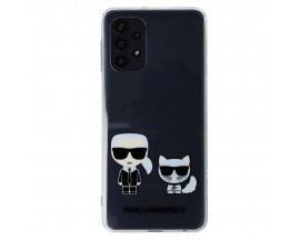 Husa Premium Karl Lagerfeld Compatibila Cu Samsung Galaxy A52 4G / A52 5G, Transparenta