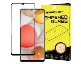 Folie Wozinsky Sticla Securizata Full Glue Compatibila Cu Samsung Galaxy A42 5G , Transparenta Cu Margine Neagra