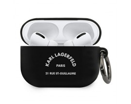 Husa Protectie Karl Lagerfeld Pentru Airpods Pro, Negru Rsg - 500750