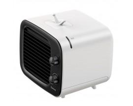 Mini Ventilator Cu Racire Pe Baza de Apa Sau Gheata, Baseus Time Alimentare Usb, Alb Negru