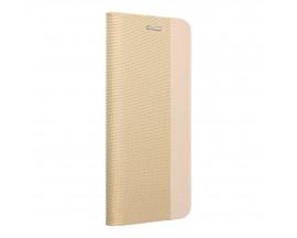 Husa Tip Carte Forcell Sensitive Compatibila Cu Samsung Galaxy A02s, Gold