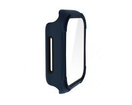 Husa Protectie Ceas Uniq Torres Compatibila Cu Apple Watch 4 / 5 / 6 / Se ( 44mm ), Albastru